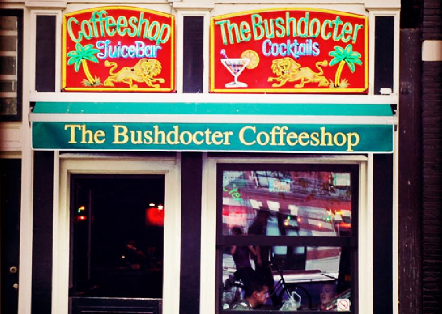 The Bushdocter coffee shop