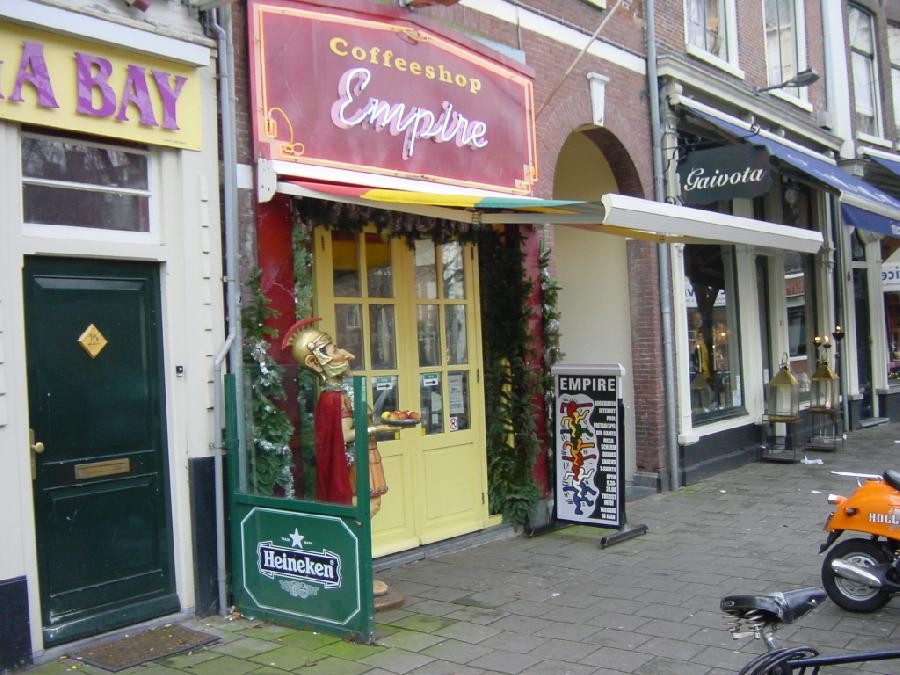 Empire coffee shop